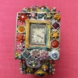 Steampunk Handcrafted Bangle Watch